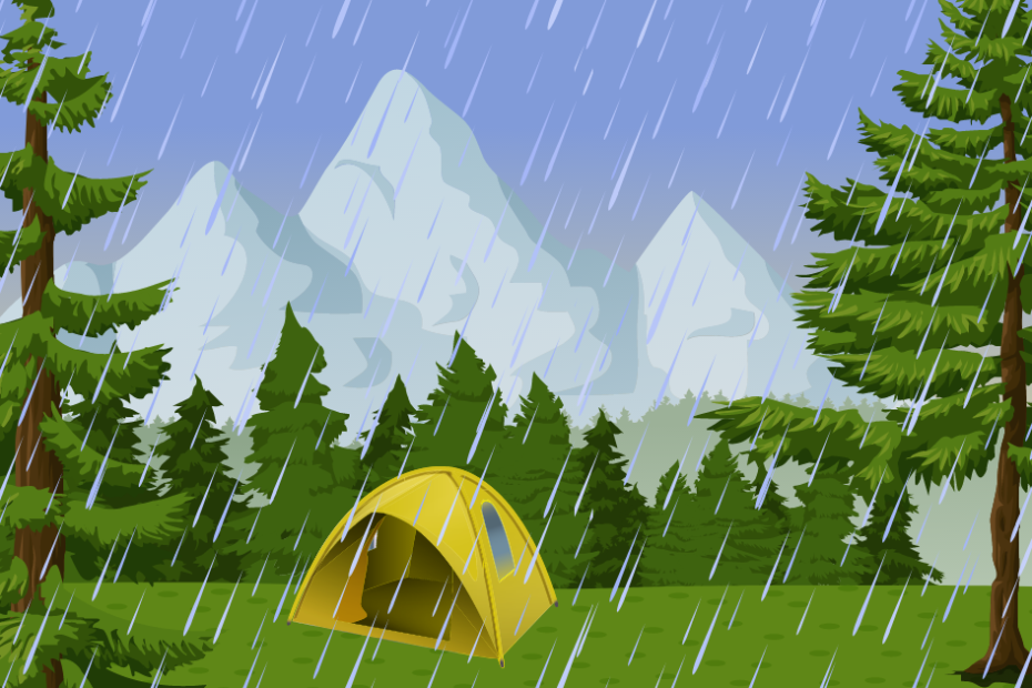 how to dry a tent