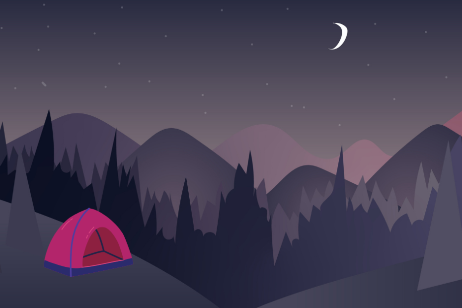 How To Sleep Comfortably In a Tent