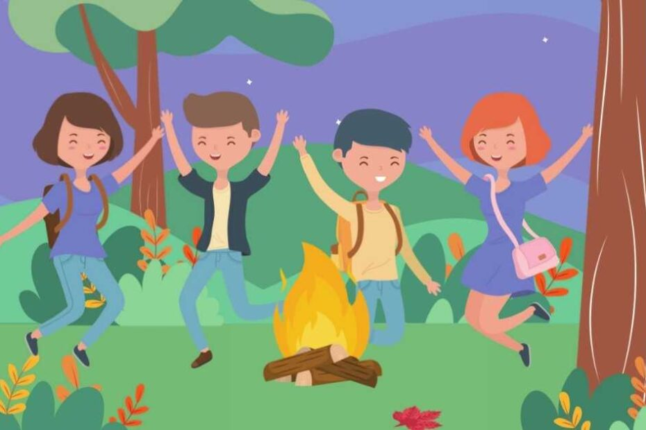 Campfire games for adults