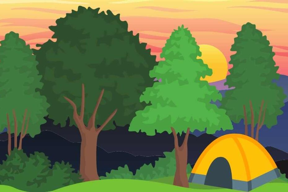 What is a walk in campsite